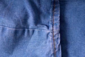 手縫い ズボン 裾 上げ